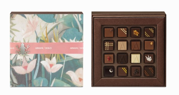 Armani Dolci chocolate Easter collection 2014