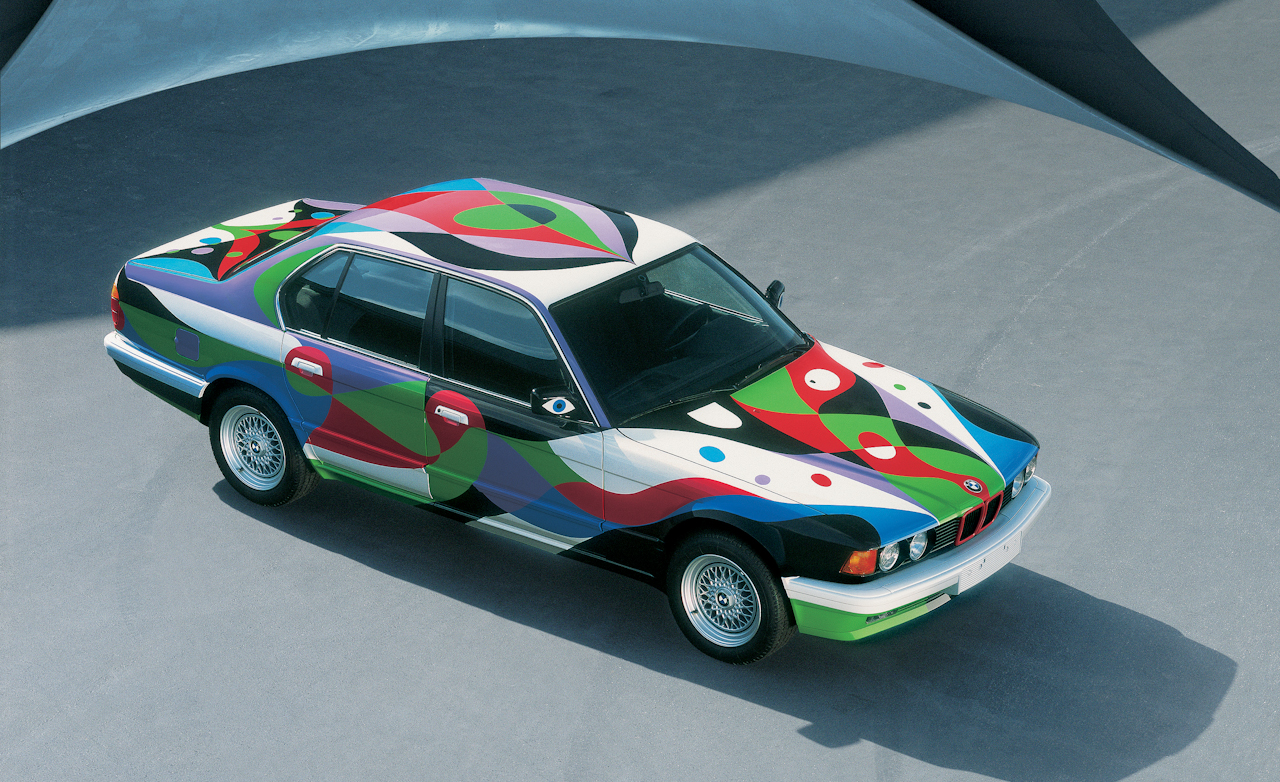 bmw launches book about its art car collection. Black Bedroom Furniture Sets. Home Design Ideas