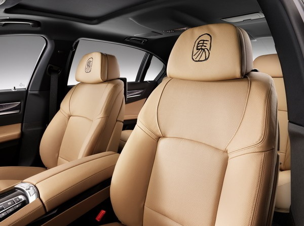 BMW Horse Edition interior
