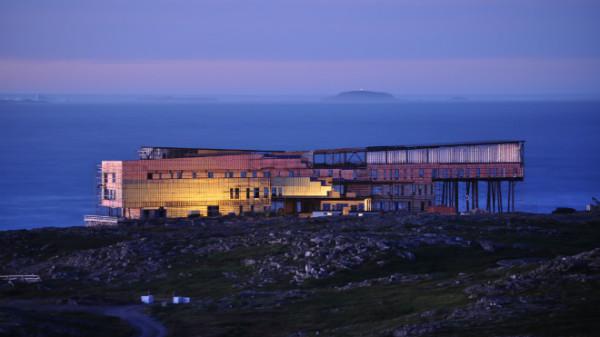 Fogo Island Inn in Newfoundland