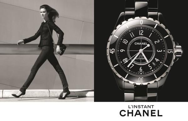 Instant Chanel ad campaign