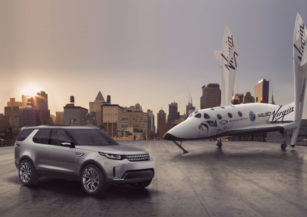 Land Rover enters Virgin Galactic partnership