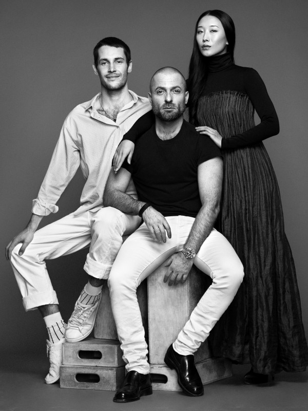 Yiqing Yin Alexandre Vauthier and Jacquemus