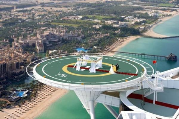 helipad Burj Al Arab