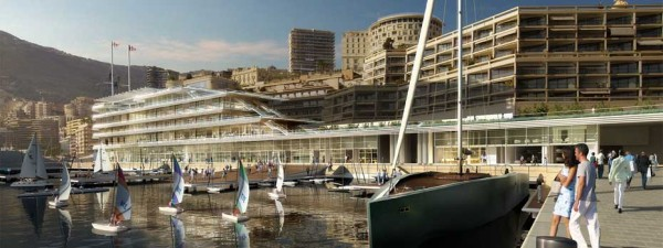 new Monaco Yacht Club headquarters