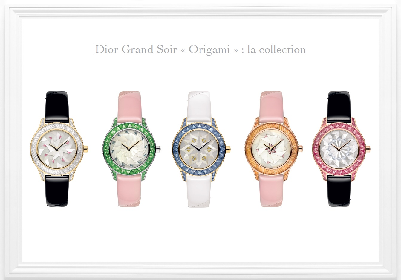 Dior Grand Soir Origami collection