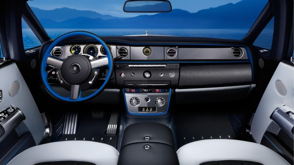 Rolls Royce Phantom Drophead Coupe Waterspeed interior