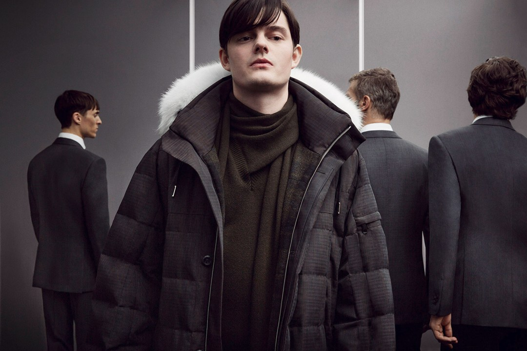 Sam Riley for Ermenegildo Zegna Couture