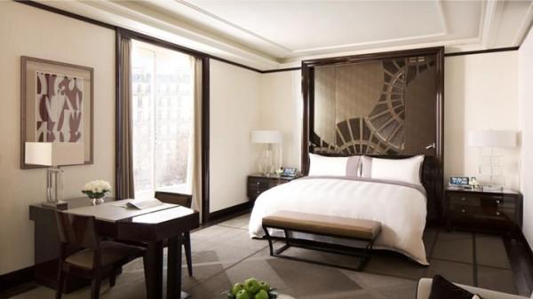 The Peninsula Paris deluxe room