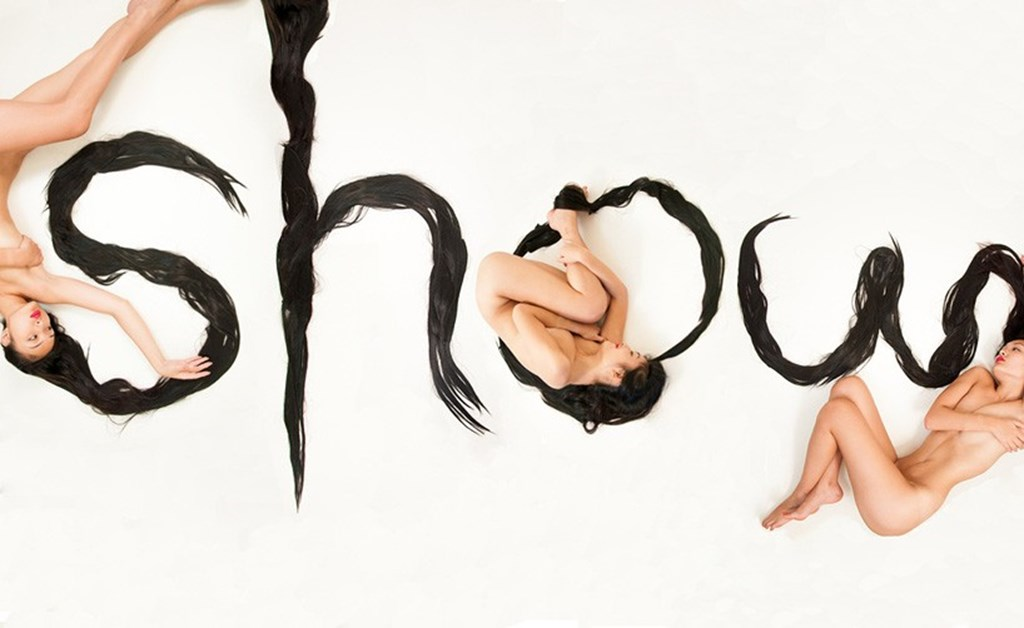 Shurong Diao Forms Hair Alphabet From Her Long Locks Designboom 03