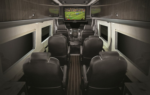 Airstream Autobahn interior