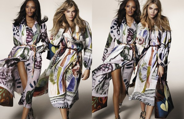 Burberry Fall-Winter 2014 campaign