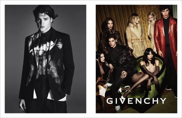 Givenchy Fall Winter 2014 Campaign menswear