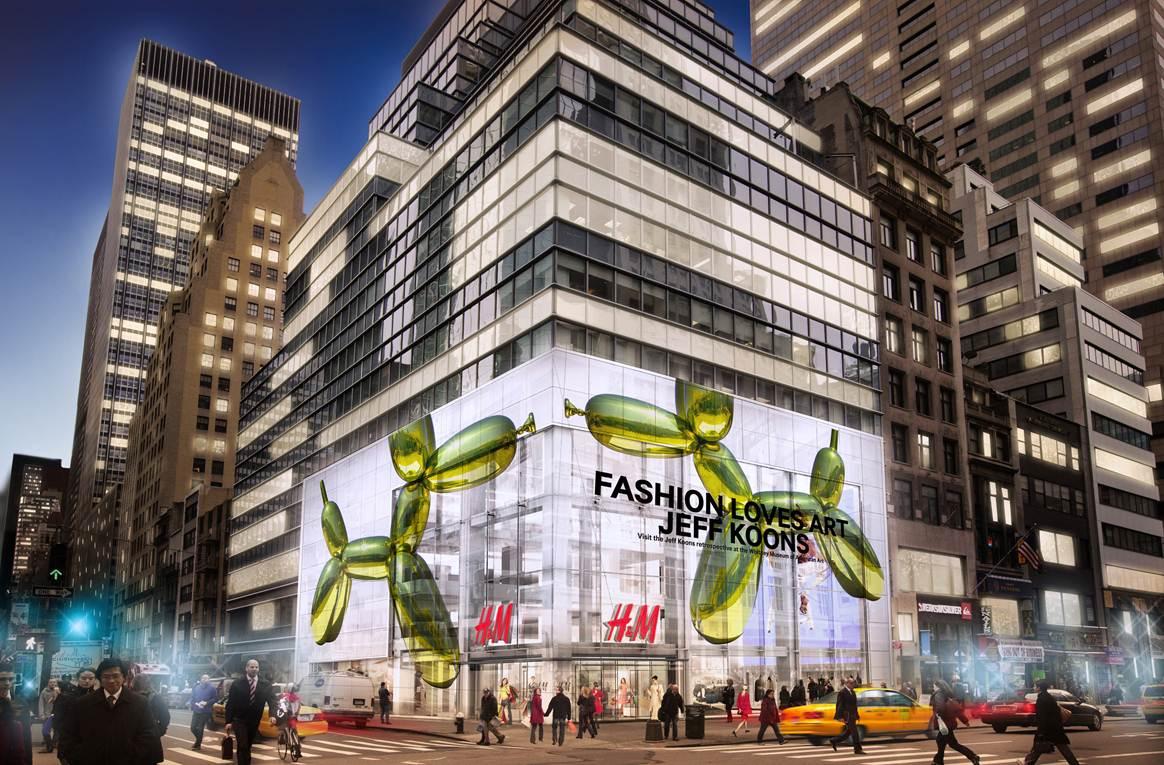 H&M's NYC Flagship