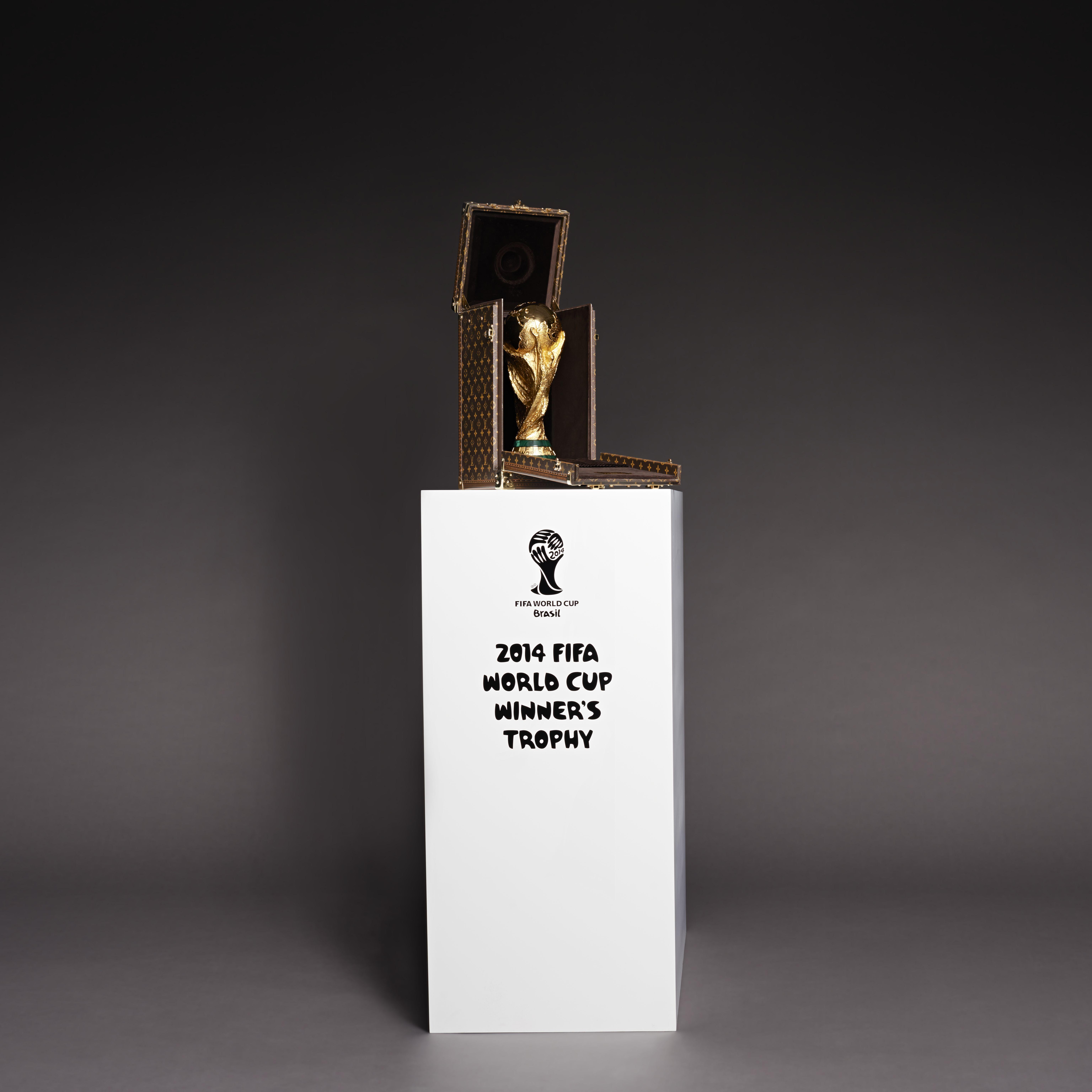 Louis Vuitton Designs World Cup Trophy Case