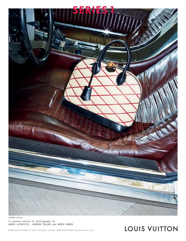 Louis Vuitton FW 2014 Handbag Campaign