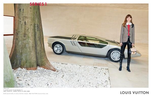 Louis Vuitton Fall 2014 Freja Beha