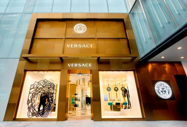 Versace Hong Kong flagship boutique