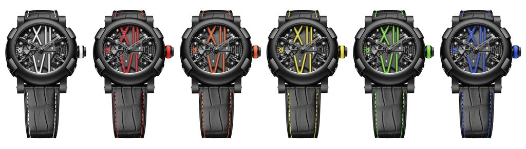 Romain Jerome Steampunk Auto Colour 3