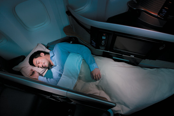 Cathay Pacific Airways long haul business class