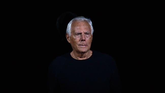 Giorgio Armani at 80