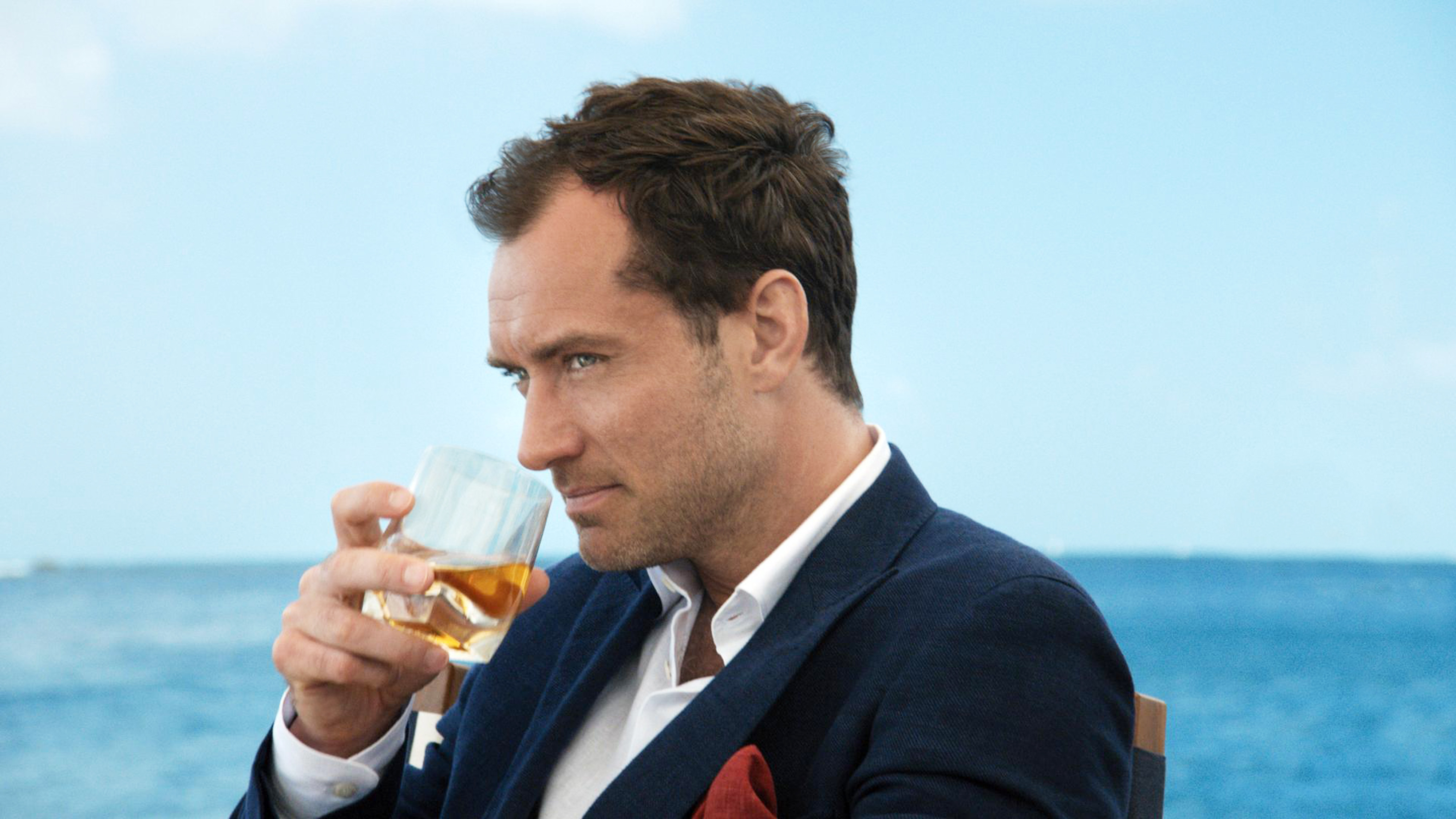 Jude Law in a Johnnie Walker Blue Label ad