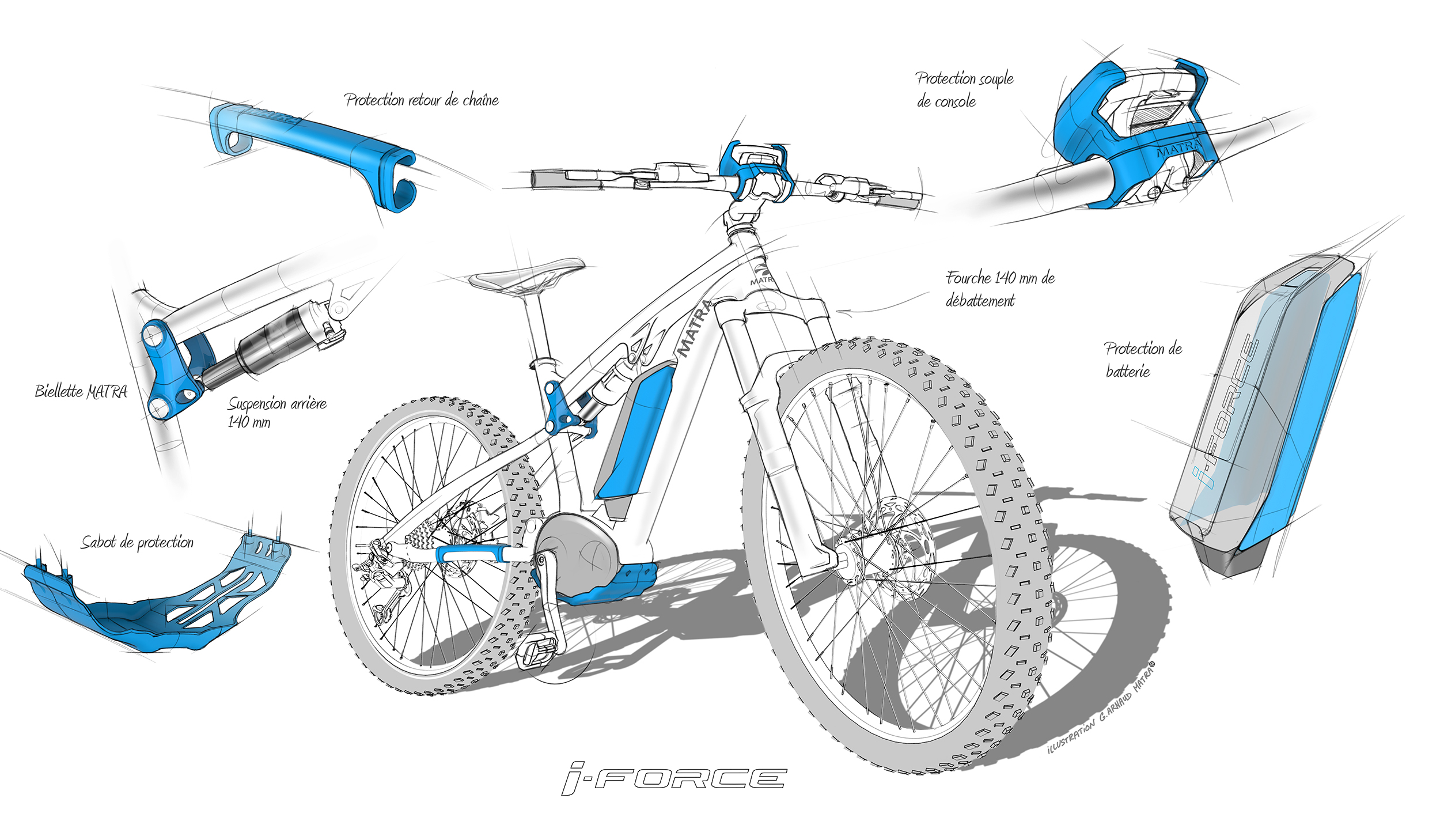 Matra electric mountain bike