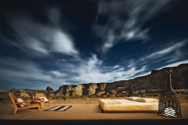 Amangiri open-roof suite