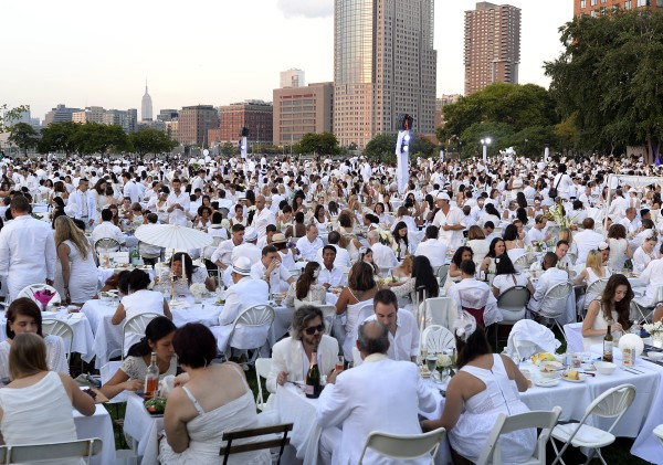 Dinner in White NYC
