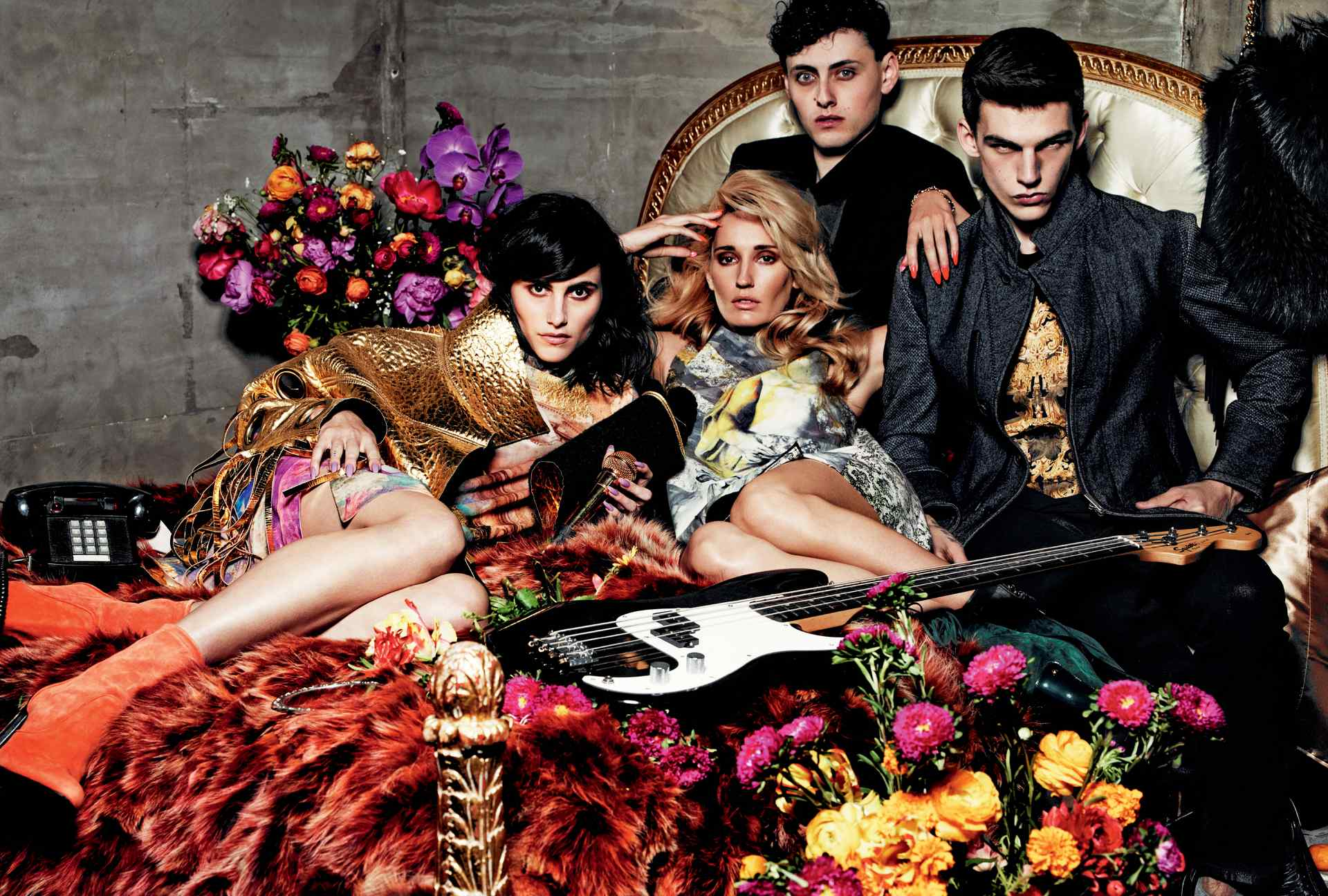 Just Cavalli Fall 2014 Campaign