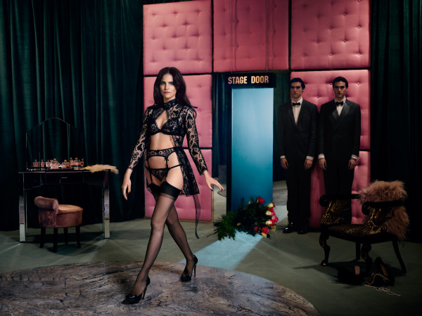 Missy Rayder for Agent Provocateur