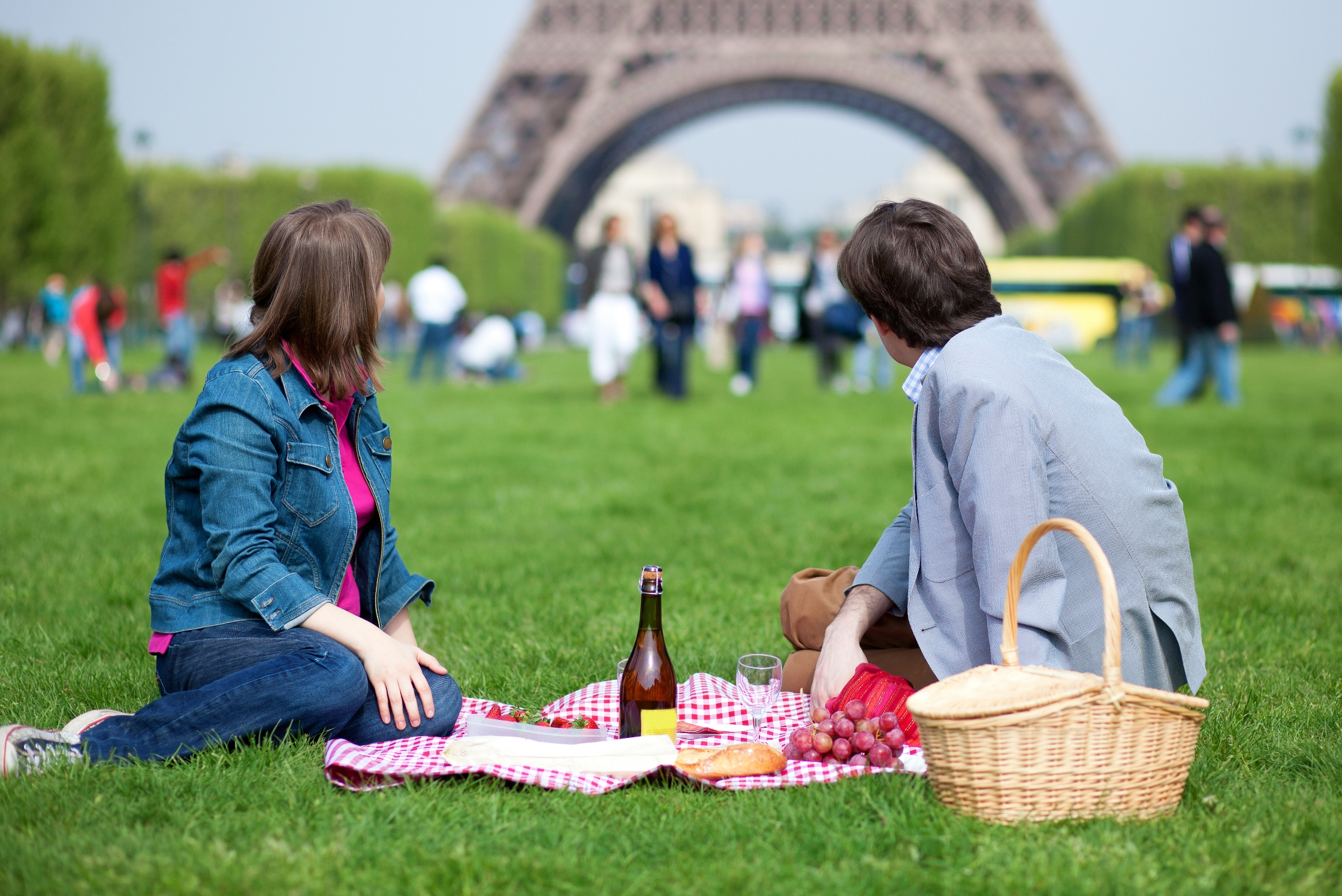 Picnic at Eiffel Tower