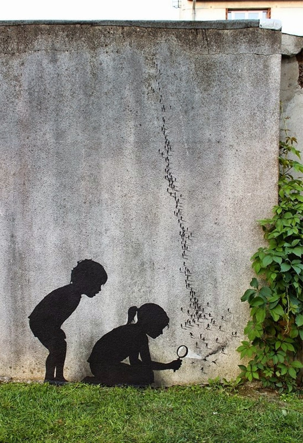New Site Specific Paintings By Pejac