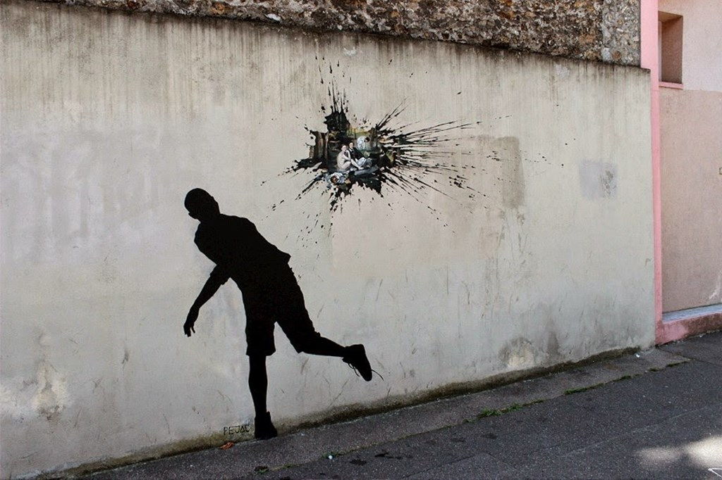 New Site Specific Paintings By Pejac 7