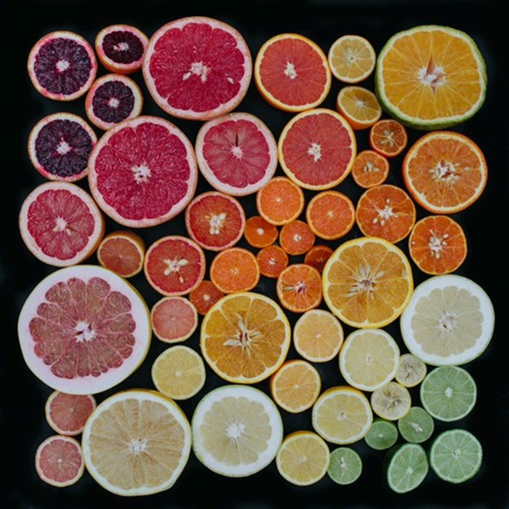 Photographs Of Color Coded Food And Plants By Emily Blincoe