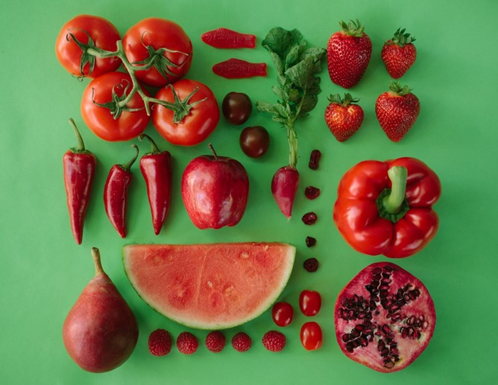 Photographs Of Color Coded Food And Plants By Emily Blincoe 16