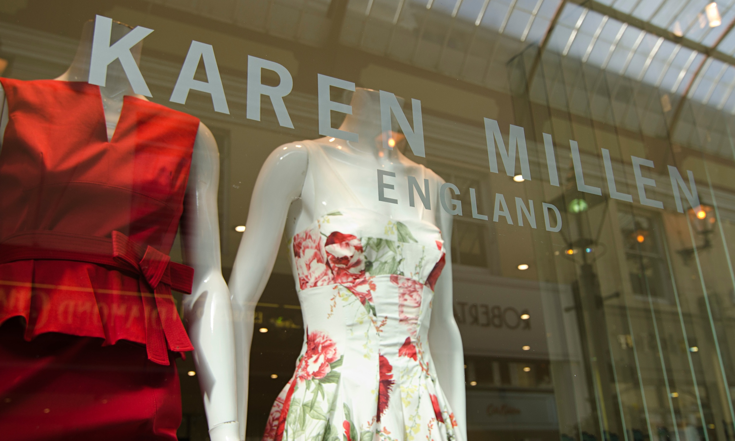 Karen Millen shop window