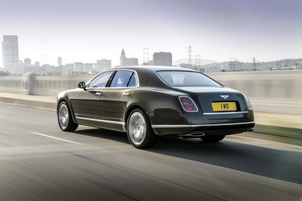 Bentley Mulsanne Speed back