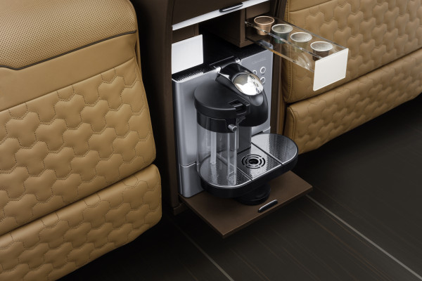 Brabus Business Lounge coffee machine