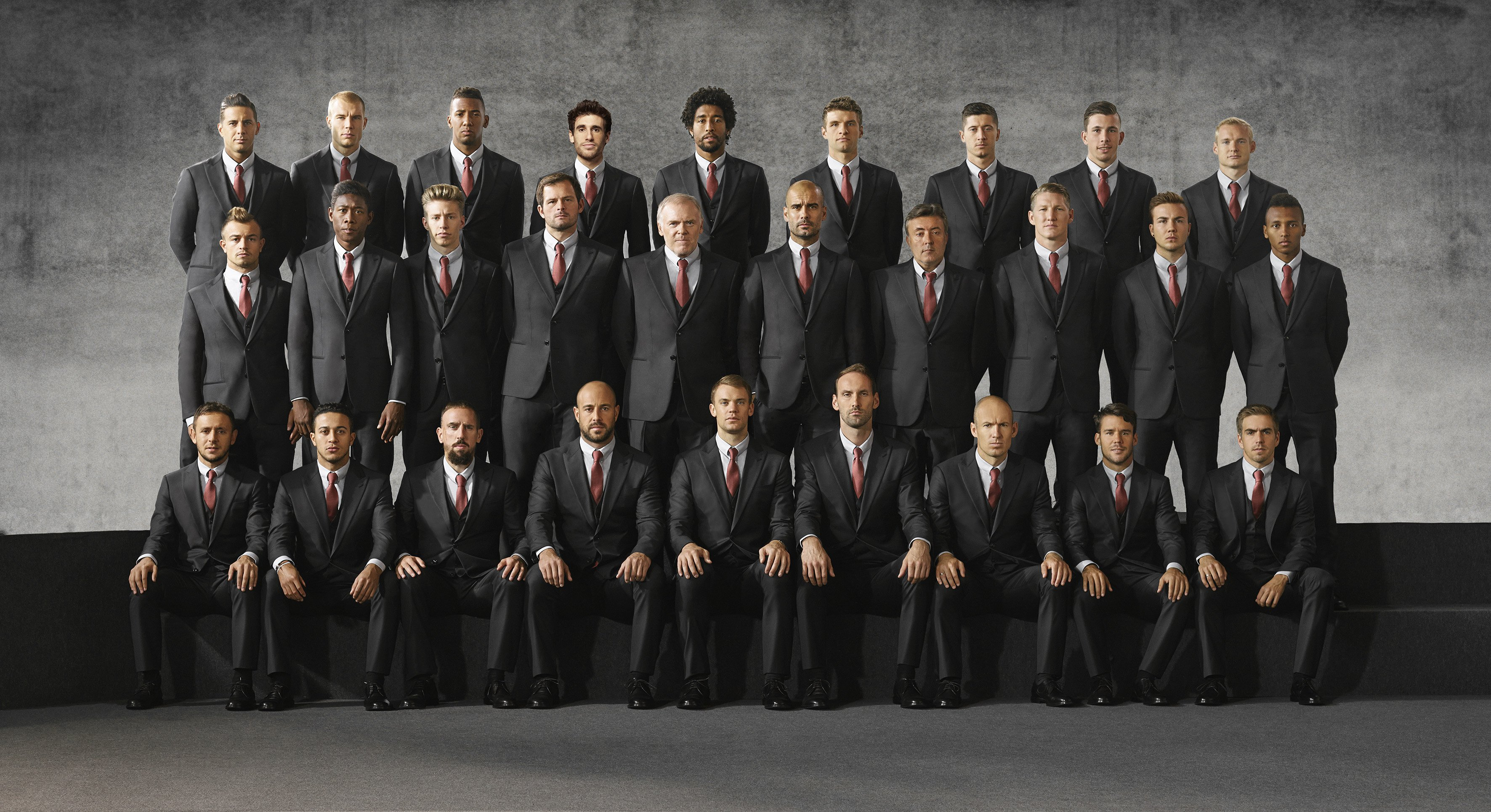 FC Bayern München Outfitted by Giorgio Armani
