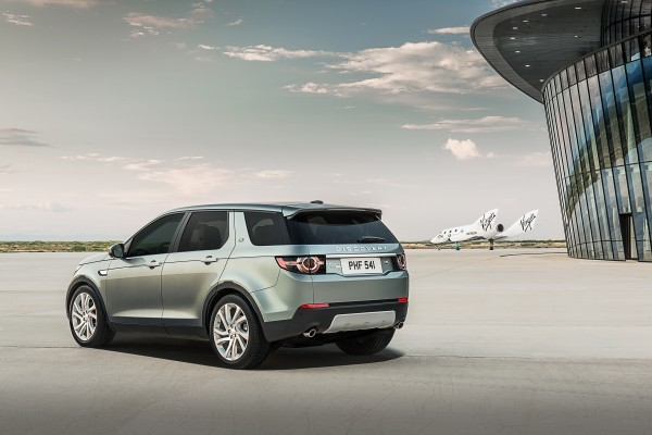 Land Rover Discovery Sport back