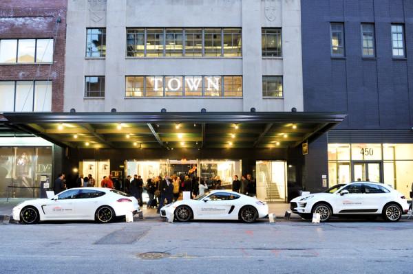 Sound of Porsche NYC Pop Up