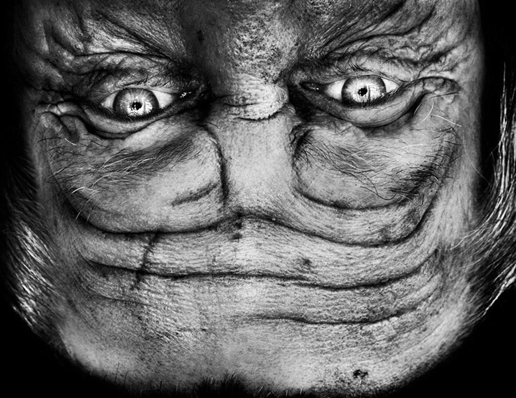 Alienation Anelia Loubser Faces Flipped Upside Down Designboom 03