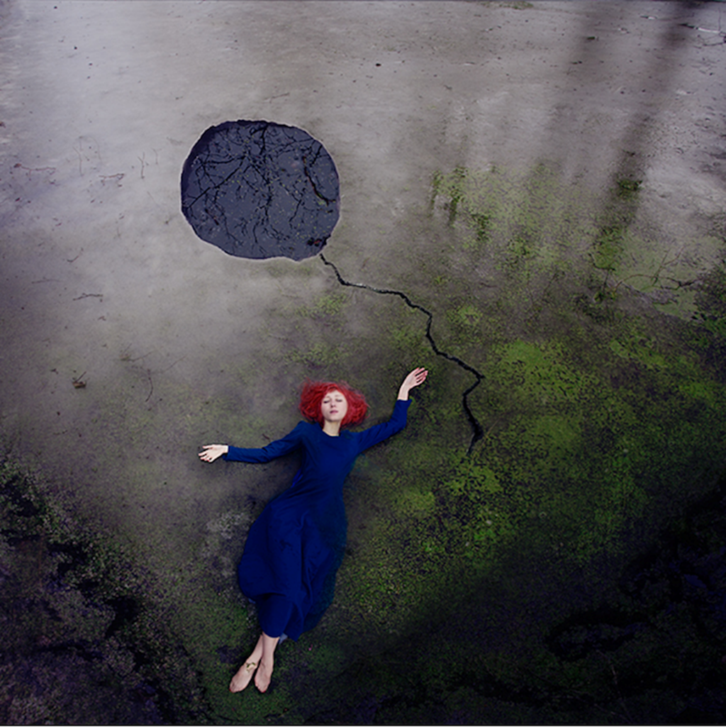 Surreal Self Portraits By Kylli Sparre 6
