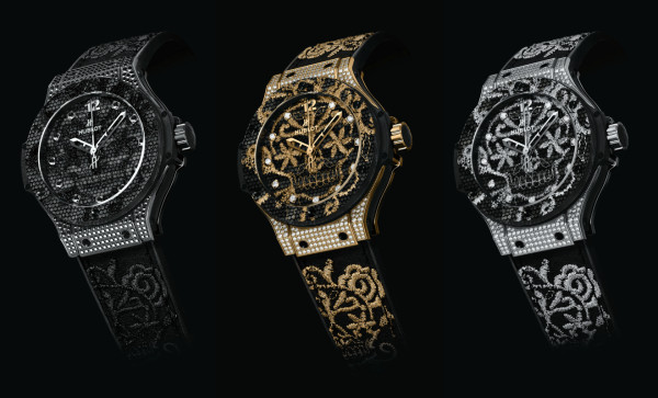 Big Bang Broderie watches