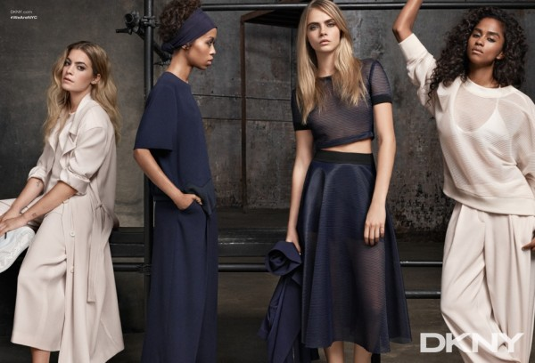 DKNY Cruise 2015 ad campaign