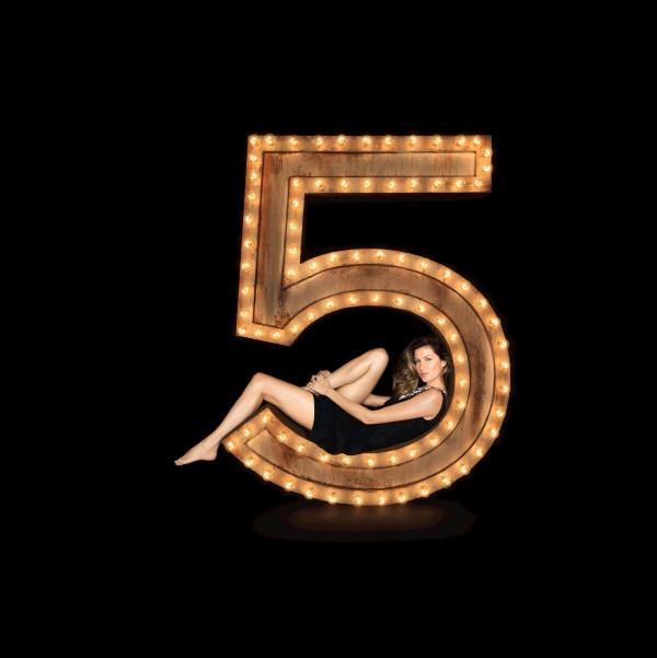 Gisele Bundchen for Chanel No5