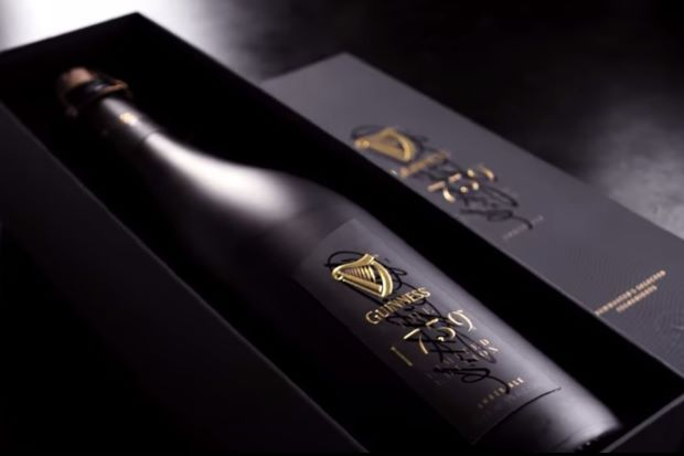 Guinness luxury beer