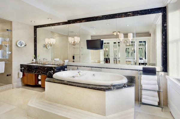 Pierre Hotel Presidential suite master bathroom