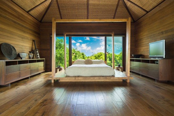 Turks and Caicos home bedroom
